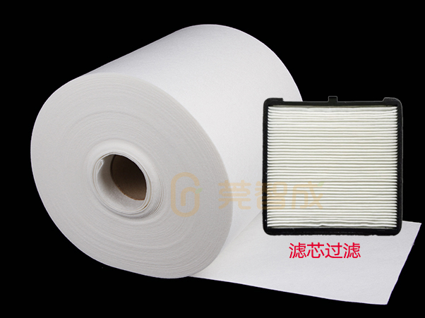 滤芯针刺棉