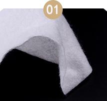 口罩针刺棉厚度不均匀