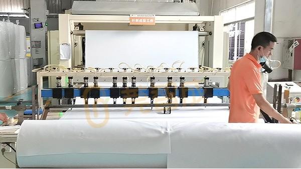 这家针刺棉生产厂家-员工激情热情